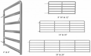 6 bar tube gate e1334941656464 Gates & Panels
