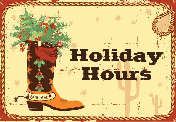 Holiday Hours Steinhauser 39 S