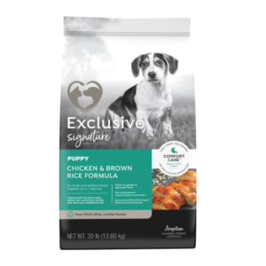 Exclusive Signature Chicken & Rice Formula Puppy Food