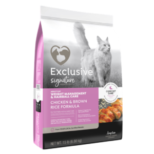 Exclusive Weight Management Hairball Control