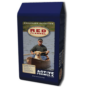 red flannel dog food