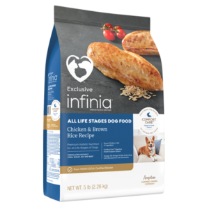 Infinia All LIfe Stages Chicken & Brown Rice Dry Dog Food