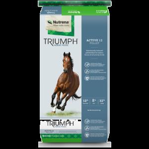 Nutrena Triumph Active 12 Pellet Horse Feed