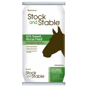 Nutrena Stock and Stable 12% Sweet Horse Feed