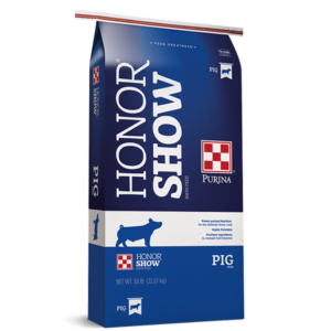 Purina Honor Show Chow Pig