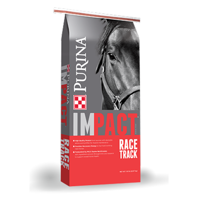 Impact Race Track Textured Horse Feed