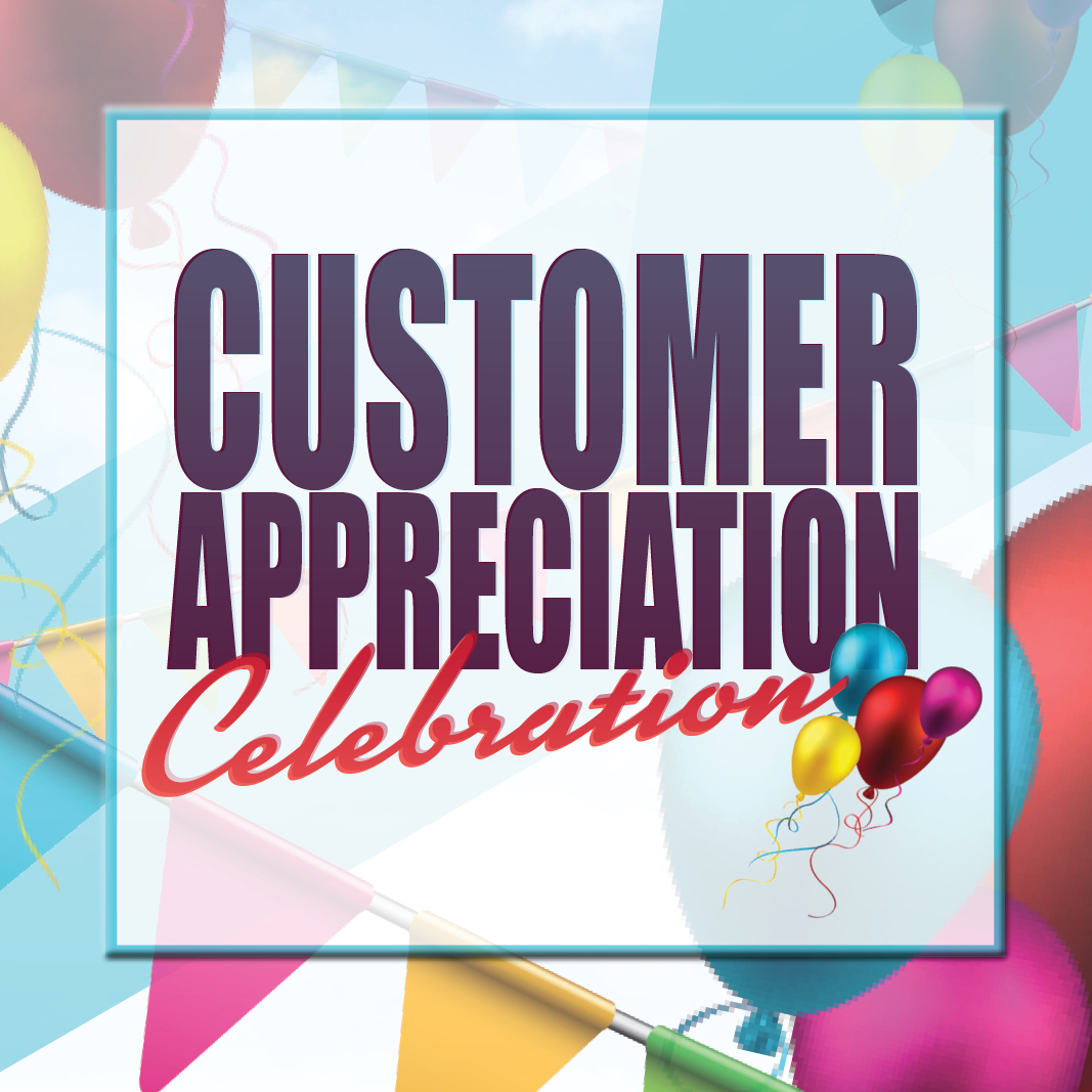 Join Steinhauser's on Saturday, December 8th for our Check-R-Board Customer Appreciation Day!