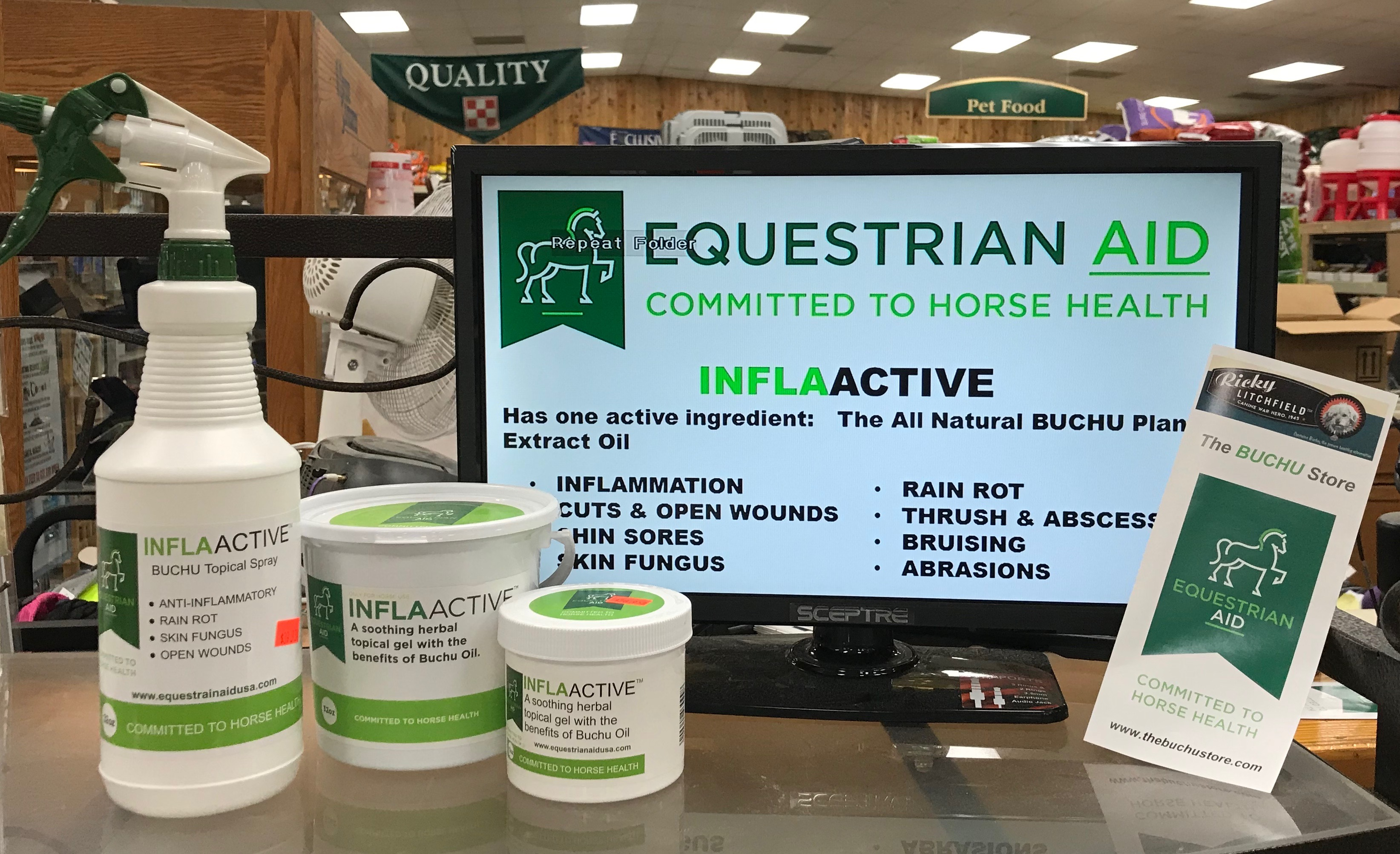 Equestrian Aid INFLAactive Gel