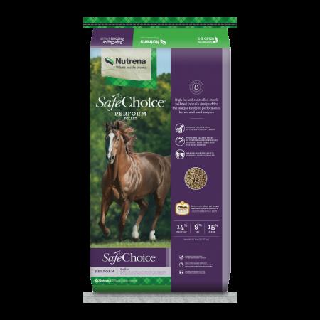 Nutrena SafeChoice Perform Pellet Horse Feed