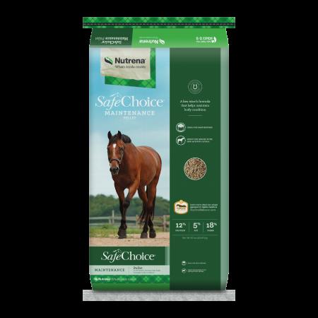 Nutrena SafeChoice Maintenance Horse Feed
