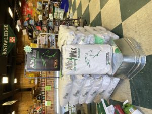 Alfa Max Equine Horse Feed Display