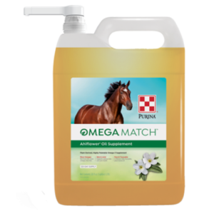 Omega Match AhiFlower Oil Supplement 1 Gallon Container